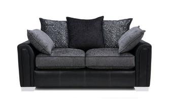 Large 2 Seater Pillow Back Supreme Sofa Bed Carrara