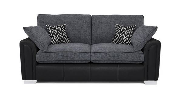 Cayanne 3 Seater Formal Back Sofa