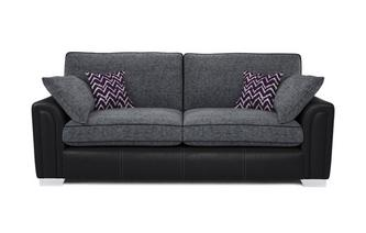Cayanne 4 Seater Formal Back Sofa Carrara