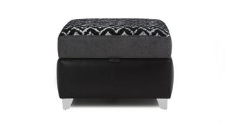 Cayanne Pattern Top Storage Footstool