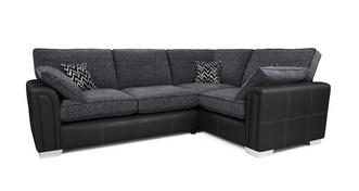 Cayanne Left Hand Facing Formal Back 3 Seater Corner Sofa