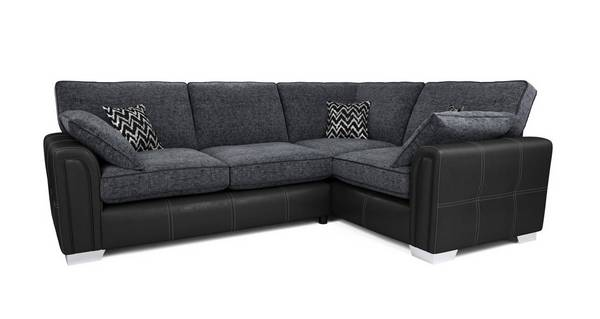 Cayanne Left Hand Facing Formal Back 3 Seater Corner Sofa