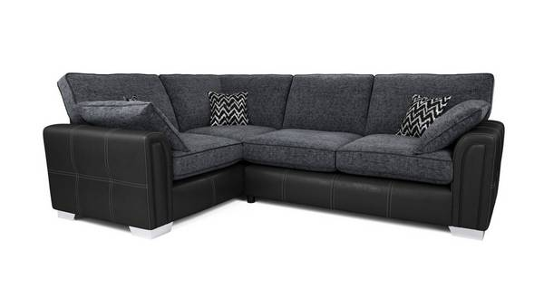 Cayanne Right Hand Facing Formal Back 3 Seater Corner Sofa