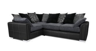Cayanne Right Hand Facing Pillow Back 3 Seater Corner Sofa