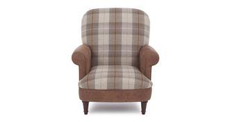 Cedar Check Seat Accent Chair