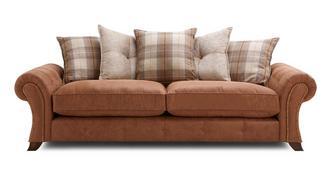 Cedar 4 Seater Pillow Back Sofa