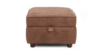 Cedar Plain Storage Footstool