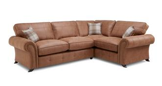 Cedar Left Hand Facing 3 Seater Formal Back Corner Sofa
