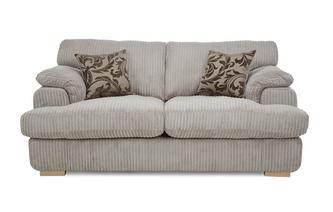 2 Seater Formal Back Sofa