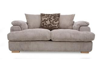 2 Seater Pillow Back Deluxe Sofa Bed Celine