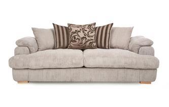 4 Seater Pillow Back Sofa Celine