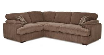 Celine Right Arm Facing 2 Seater Formal Back Corner Sofa