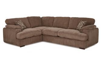 Right Arm Facing 2 Seater Formal Back Corner Sofa