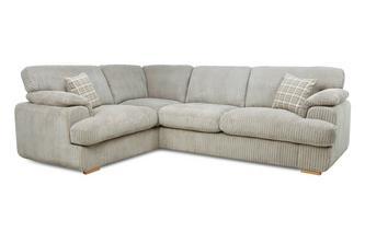 Right Arm Facing 2 Seater Formal Back Corner Sofa Celine Alternative