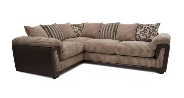 Chalice Right Hand Facing 2 Seater Pillow Back Corner Sofa