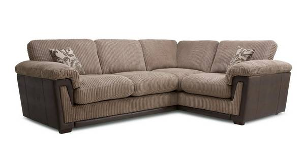 Chalice Left Hand Facing Formal Back Deluxe Corner Sofa Bed