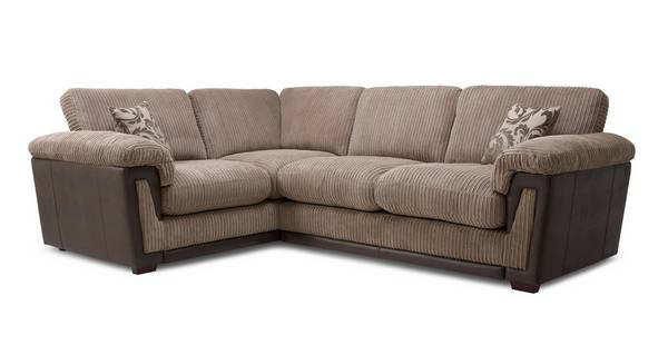 Chalice Right Hand Facing Formal Back Deluxe Corner Sofa Bed