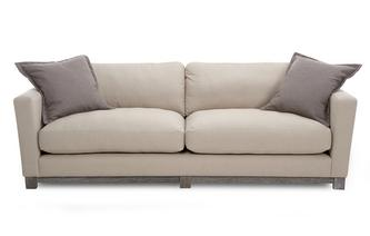 4 Seater Sofa New Chalk