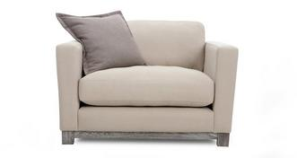 Chalk Cuddler Sofa