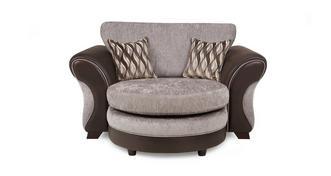 Chance Knuffel loungebank met vaste rugkussens