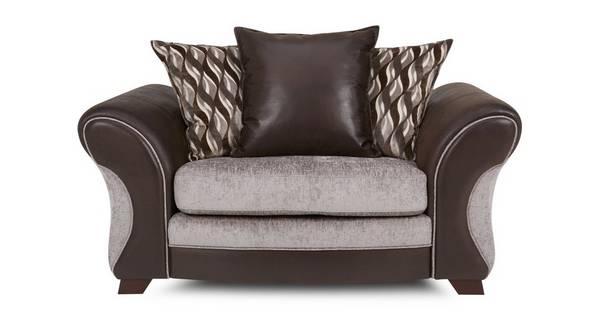 Chance Pillow Back Cuddler Sofa