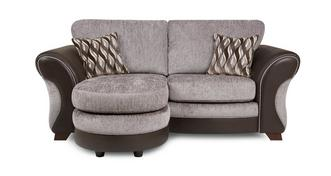 Chance 2 Seater Formal Back Lounger