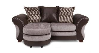 Chance 2 Seater Pillow Back Lounger