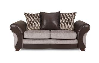 Large 2 Seater Pillow Back Deluxe Sofa Bed Chance
