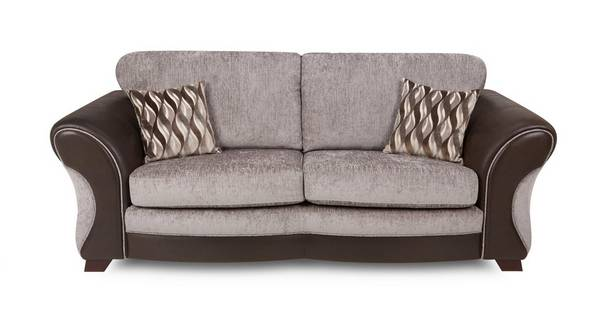 Chance 3 Seater Formal Back Sofa