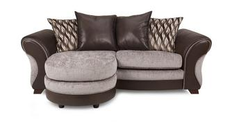 Chance 3-zits Lounger losse rugkussens