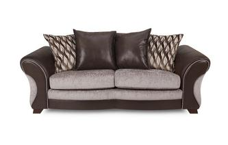 3 Seater Pillow Back Deluxe Sofa Bed Chance