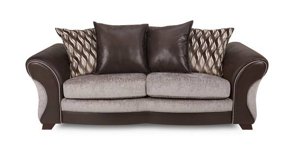 Chance 3 Seater Pillow Back Deluxe Sofa Bed