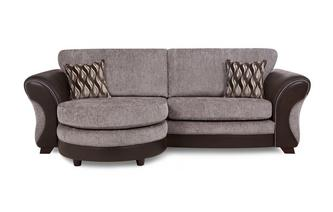 4 Seater Formal Back Lounger Chance