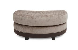 Half Moon Footstool Chance