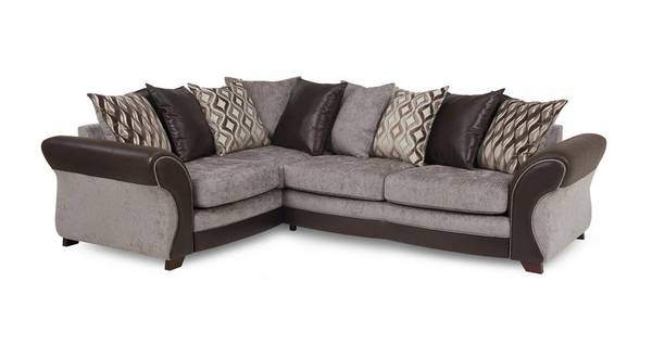 Chance Right Hand Facing 3 Seater Pillow Back Corner Sofa