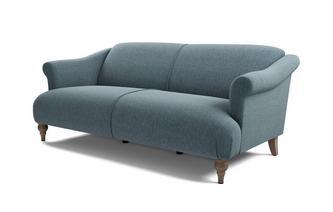 Plain 3 Seater Sofa