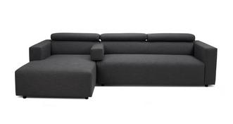Charlotte Left Hand Facing Chaise Sofa