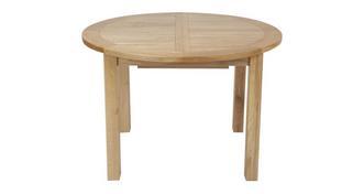 Chateaux Ronde uitschuifbare tafel