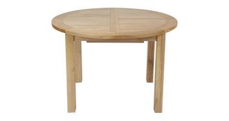 Chateaux Round Extending Table