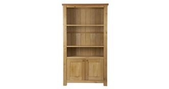 Chateaux Bookshelf with 2 Doors