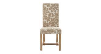 Chateaux Chicago bloempatroon gestoffeerde stoel