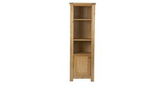 Chateaux Narrow Open Display Unit with 1 Door