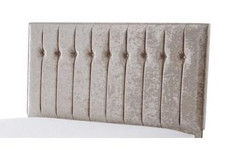 King Size Headboard Crush Fabric