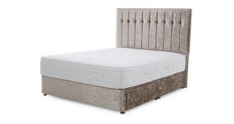 Chelsea King 2 Drawer Bed (Crush)