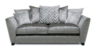 Cheska Pillow Back Medium Sofa