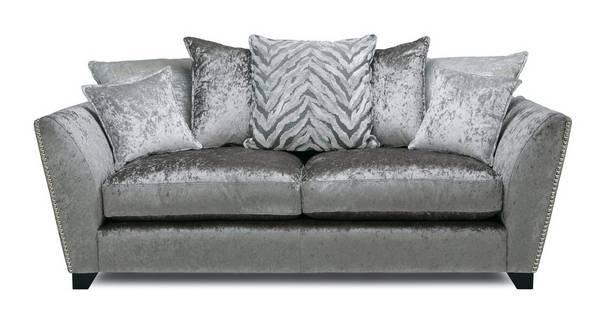 Cheska Pillow Back Medium Sofa