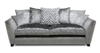Cheska Pillow Back Large Sofa