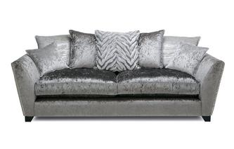 Pillow Back Large Sofa Cheska