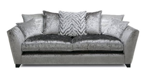 Cheska Pillow Back Large Sofa