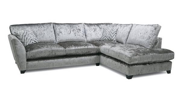Cheska Formal Back Left Hand Facing Arm Medium Corner Sofa